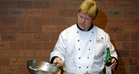 Former JCCC Chef Tim Johnson